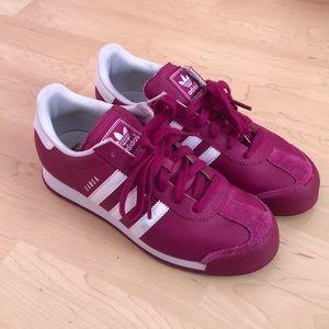 Fuchsia Adidas Shoes!
